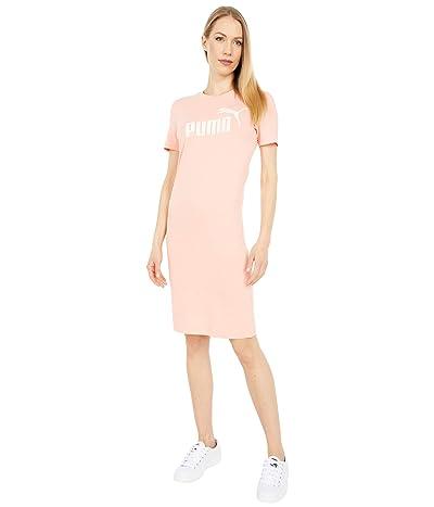 PUMA Essentials Slim T-Shirt Dress (Apricot Blush) Women
