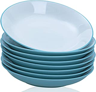 TGLBT Pasta/Salad Bowls 22 Ounce - Set of 8, Serving Bowl Set,Blue
