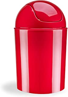 Umbra Mini Waste Can, 1.25 Gallon with Swing Lid (Ivory)