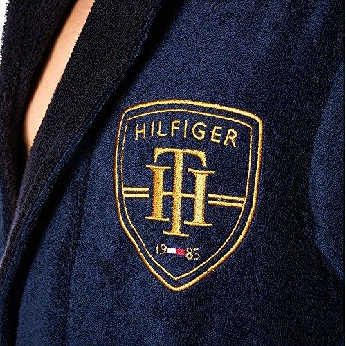 Tommy Hilfiger Bathrobe Robe De Chambre, Bleu (Navy Blazer), Medium Homme