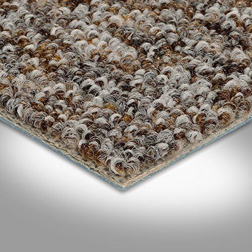 300 BODENMEISTER BM72269 Teppichboden Auslegware Meterware Schlinge meliert 200 400 und 500 cm Breit verschiedene L/ängen 2 x 2 M Beige Grau Variante: