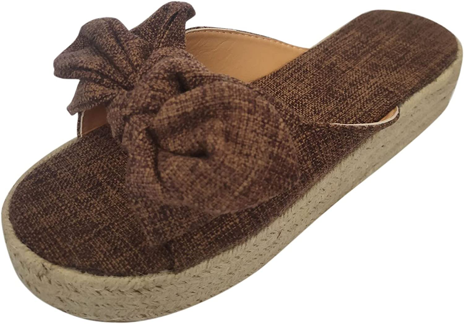 USYFAKGH Ladies Shoes Max 41% OFF Women's Reservation Fashion Large Bowknot Size Platfor