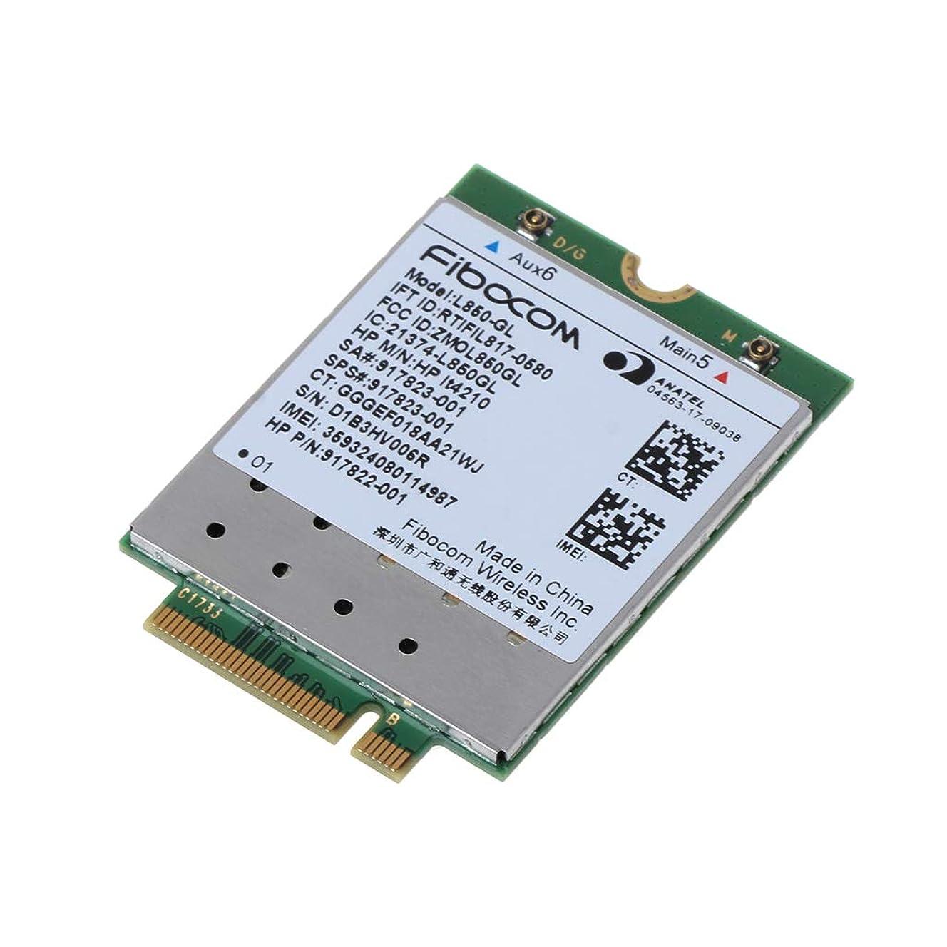 落ち着く図書館コミットCarise L850-GL HP LT4210 Fibocom Card Wireless 917823-001 WWAN モバイルモジュール 4G LTE NEU用