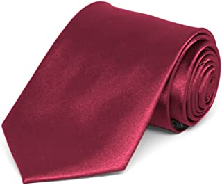 boys solid red tie