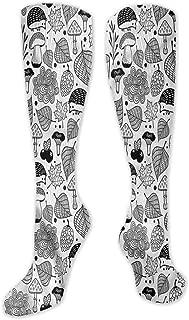 Pattern Socks,Socks Women,Women Casual,Socks Hedgehog Cheery Forest Cartoon