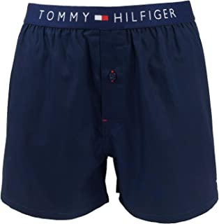 Tommy Hilfiger Men's Cotton Woven Boxer Icon Boxer Shorts