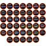 Brooklyn Beans Assorted Coffee Variety Pack Single-Cup coffee for Keurig K-Cup Brewers, 40 Count