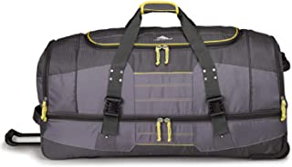 high sierra rolling duffel bag 30 drop bottom