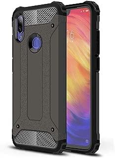 Phone Case Cover Magic Armor TPU + PC Combination Case for Xiaomi Redmi Note 7 (Black) Smartphone Shell Cover (Color : Bronze)