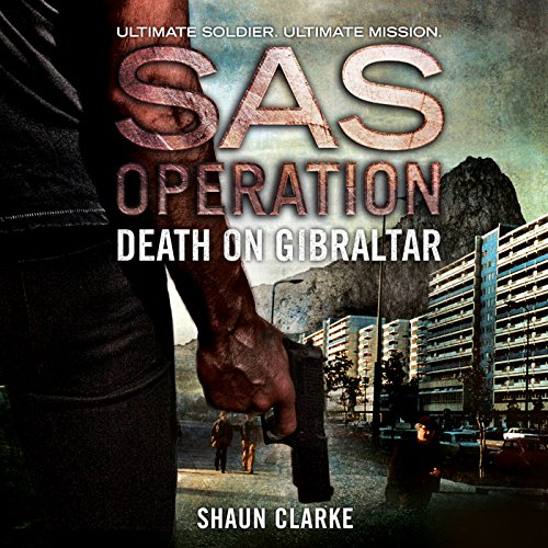 Death on Gibraltar audiobook cover art