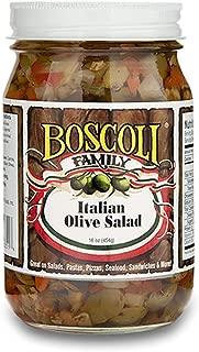 Boscoli Olive Salad Italian Oil 16.0 OZ (Pack of 3)