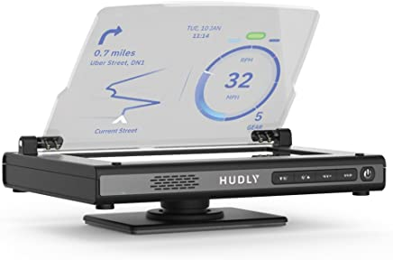 Hudly Wireless Head Up Display, 1 Pack