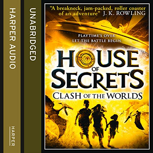 Clash of the Worlds audiobook cover art