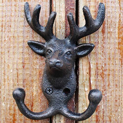 Cratone Antique T/ête De Cerf D/écoration Artificielle T/ête De Cerf T/ête De Cerf Art D/écoration Home Restaurant Porche Pendentif