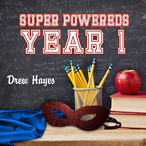 Super Powereds: Year 1 cover art