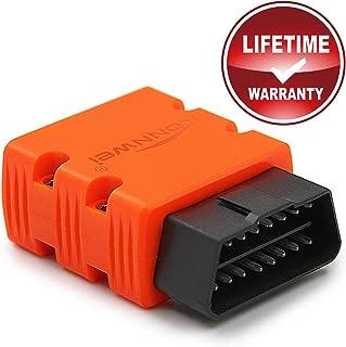 KONNWEI KW902 Mini ELM327 Bluetooth Wireless OBDII Car Diagnostic Scan Tool Elm 327 OBD2 Code Reader Support J1805 Protocol(Orange)