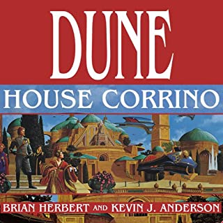 Dune: House Corrino     House Trilogy, Book 3              Written by:                                                                                                                                 Brian Herbert,                                                                                        Kevin J. Anderson                               Narrated by:                                                                                                                                 Scott Brick                      Length: 24 hrs and 9 mins     3 ratings     Overall 5.0