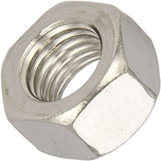 ASME B18.2.2 Zinc Plated Finish Steel Hex Nut 3//8-16 Thread Size 9//16 Width Across Flats 21//64 Thick Pack of 100 Grade 5