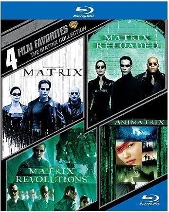 4 Film Favorites: The Matrix Collection  [Blu-ray] [Importado]