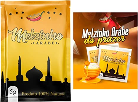 Melzinho árabe do prazer mel estimulante natural unissex 5g