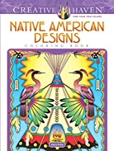 Creative Haven Native American Designs Coloring Book (Creative Haven Coloring Books)