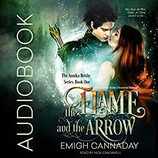The Flame and the Arrow audiobook cover art