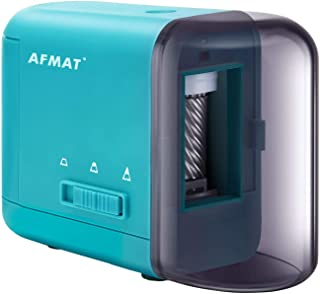 Colored Pencil Sharpener, Electric Pencil Sharpener Automatic Fast Sharpen No.2/Colored Pencil (3 Nib Options) Convnient USB/Battery Operated for Students,Artists,Classroom,Office