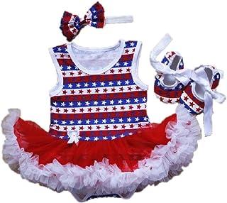 Hooyi - Juego de 3 piezas con diseño de bandera de Estados Unidos