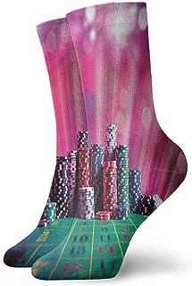 Funny Socks For Female Sox Poker Tournament,Vegas Holiday,socks men pack black