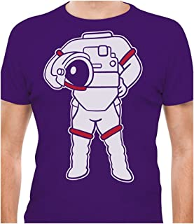 Tstars - Astronaut Easy Costume - Space Suit Print Funny T-Shirt