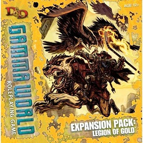sin mínimo Legion of oro Expansion Box Gamma World World World Dungeons and Dragons  más descuento