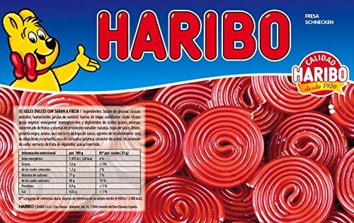 Haribo Fresa Schnecken - Geles Dulces sabor fresca, 2000 gr