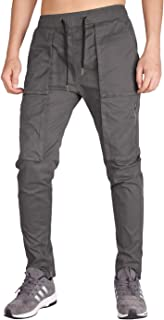 Men's Tapered Cargo Pants Casual Military Work