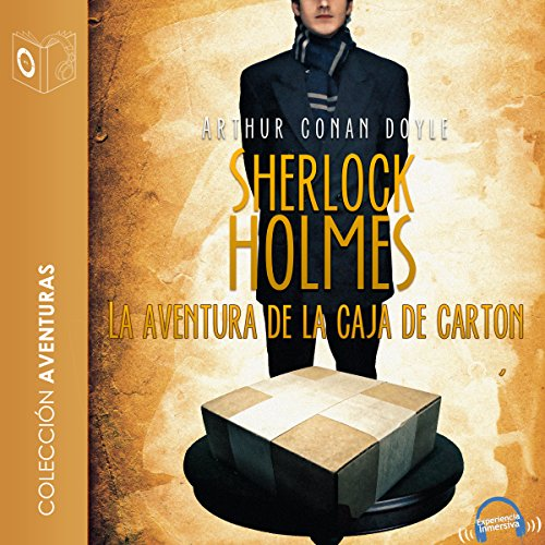 La aventura de la caja de cartón [The Adventure of the Cardboard Box] audiobook cover art