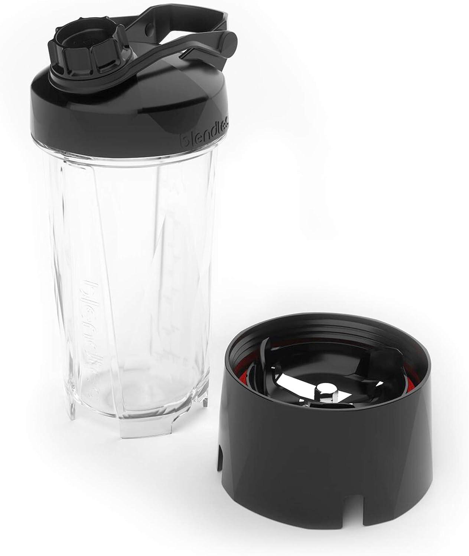 Blendtec GO Cup (34 oz), Travel Bottle, Reusable Single Serve Blender Cup, Travel Lid, BPA-free Jar, Clear