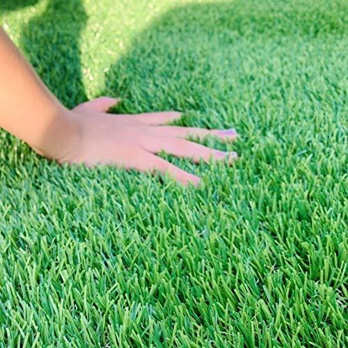 人工芝 芝高さ3cm (2m×10m) 業界最高標準の高密度 タイプで ふかふか です。排水穴付き。 押えピン35本プレゼント付き