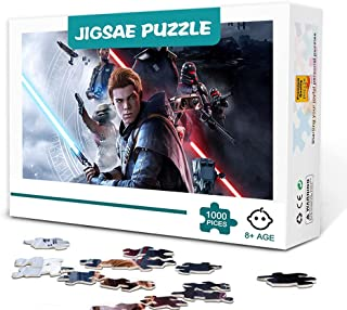 CHDBB 1000 Pièces Jigsaw Puzzles Game Star Wars Jedi : Fallen Order Classic Movie Paintings Puzzle Game Gift Home Décorati...