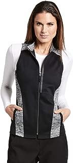 black scrub vest