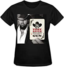 Toby Keith Bullets In The Gun Women T-Shirt
