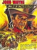 Da Bang CHISUM Movie Poster Rare John Wayne Western 24x36inch