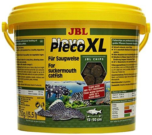 JBL NovoPleco XL 30343 Alleinfutter für große Saugwelse, Tabletten 5,5 l