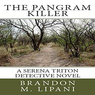 The Pangram Killer audiobook cover art
