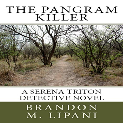 The Pangram Killer audiobook cover art
