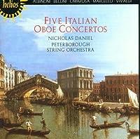Five Italian Oboe Concertos by Nicholas Daniel (1999-10-12)