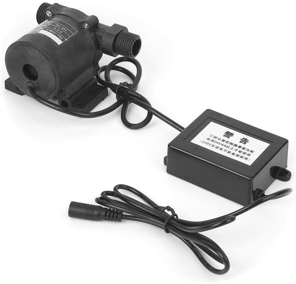 ZUQIEE Brushless Water Pump 24V T50 H Max 51% OFF 1750L Submersible A surprise price is realized Mini Pu