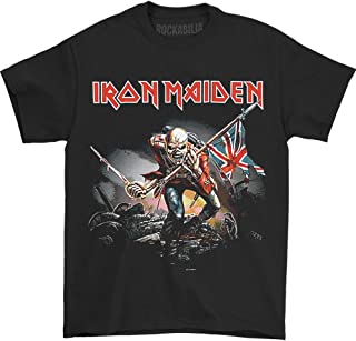 Global Iron Maiden Men's The Trooper T-shirt Black