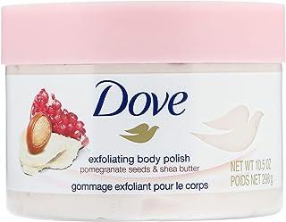 Dove Exfoliating Body Polish Body Scrub, Pomegranate & Shea (Pack of 2)