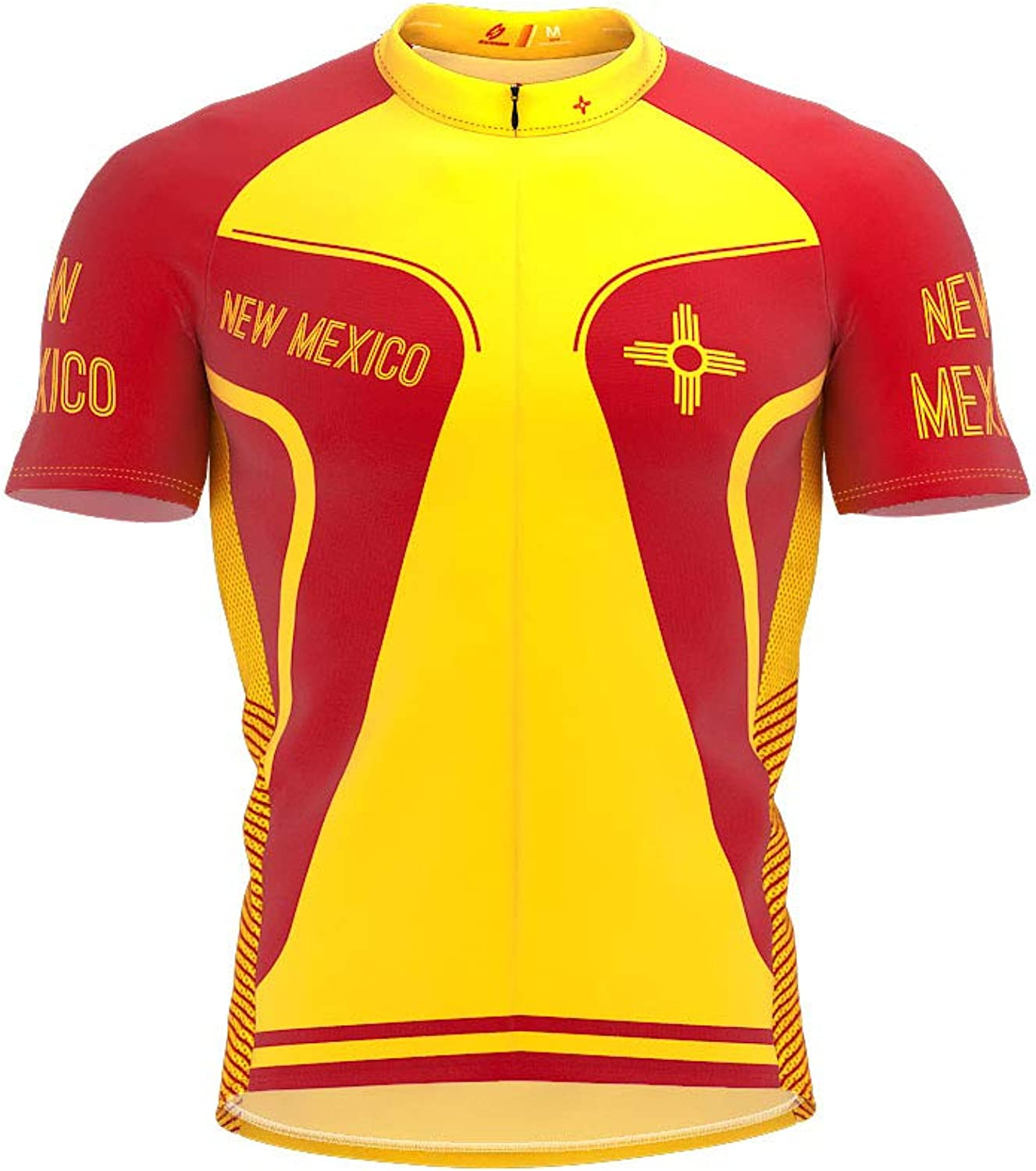 ScudoPro New Mexico Bike Short Sleeve Cycling Jersey for Women