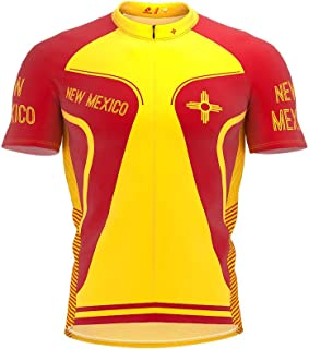 ScudoPro New Mexico Bike Short Sleeve Cycling Jersey for Men