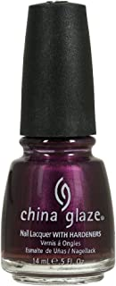 China Glaze Nail Lacquer With Hardeners - 14 Ml, Let'S Groove - Purple